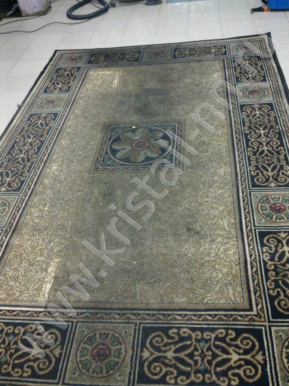 И ковровых покрытий до и после